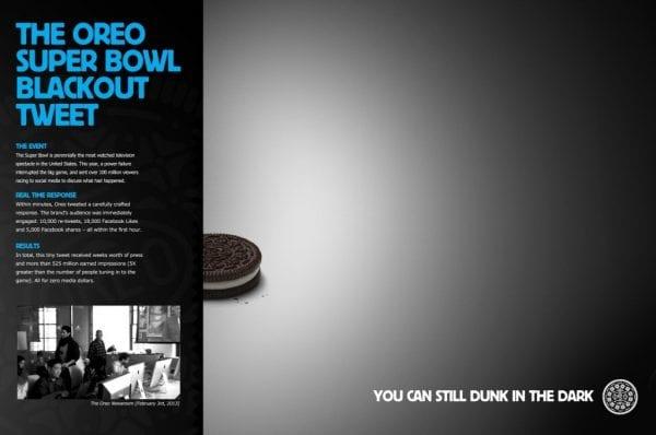 Oreo Blackout Tweet - Leo Morejon